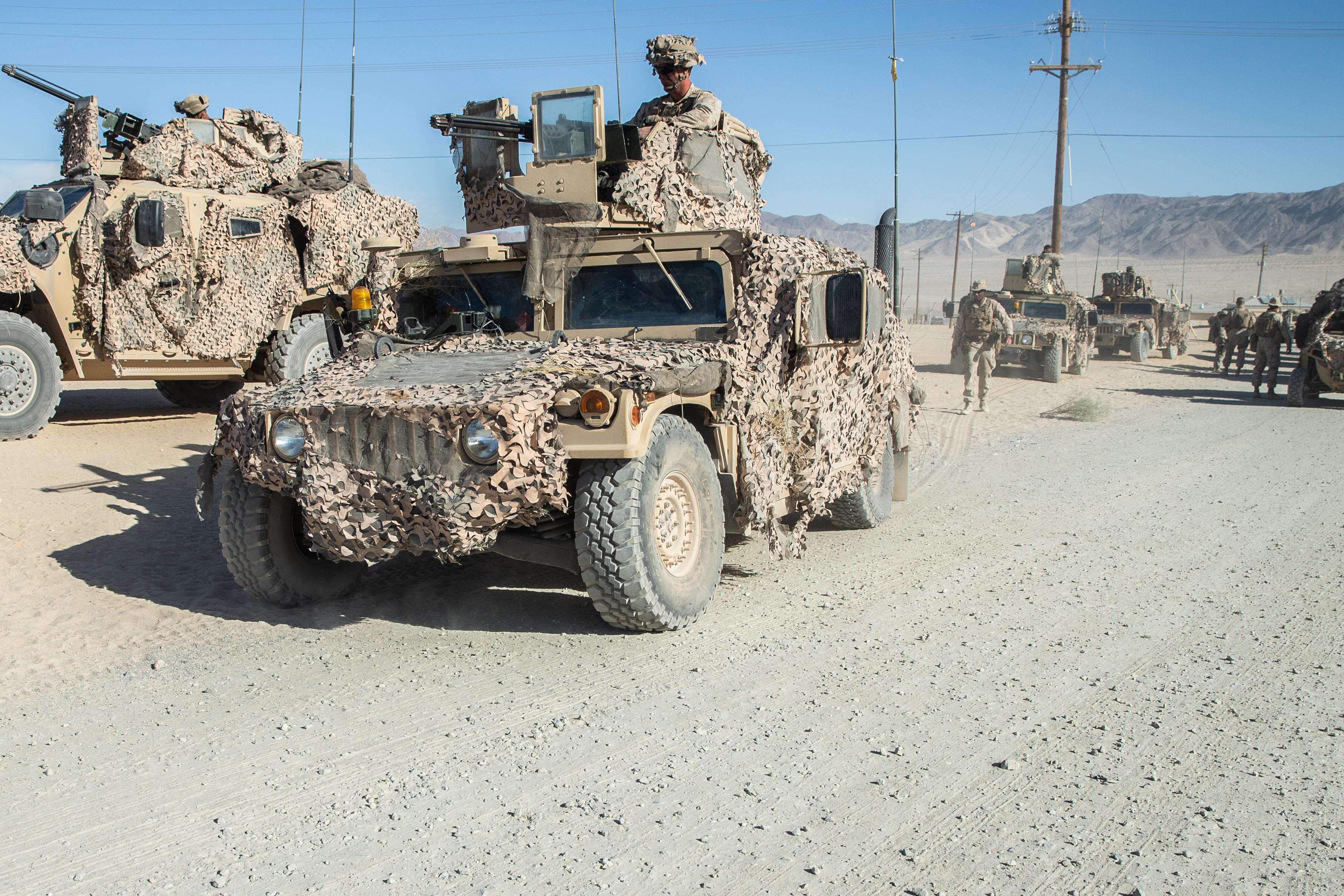 U.S. Marines with 2nd Marine Division Participate in MWX – Nov 06, 2019