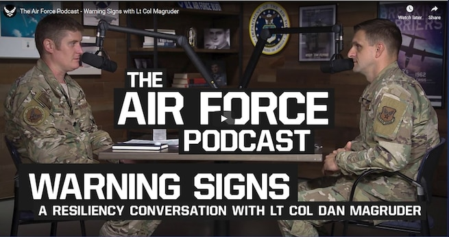 A resiliency conversation with Lt. Col. Dan Magruder