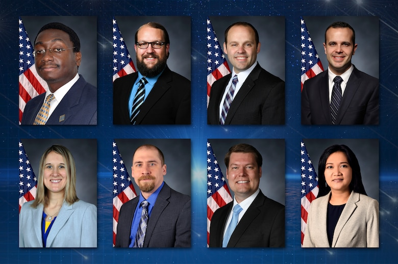 The Air Force Research Laboratory will honor 21 scientists and engineers Nov. 13 for their outstanding career accomplishments during the laboratory's 2019 Fellows and Science and Engineering Early Career Awards Banquet at the National Museum of the United States Air Force. This group, which is the largest in AFRL history, includes 13 AFRL fellows and eight Science and Engineering Early Career Award winners. (U.S. Air Force photo illustration/Patrick Londergan)
