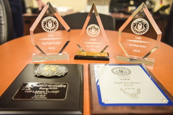 Luke recruiters were recognized with multiple awards during this year's Air Force Reserve Command recruiting conference in Orlando, Florida in October.