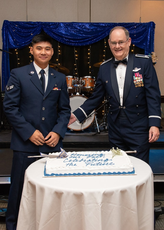 The 349th Air Mobility Wing hosted a military ball Nov. 2, 2019, at Travis Air Force Base, Calif.