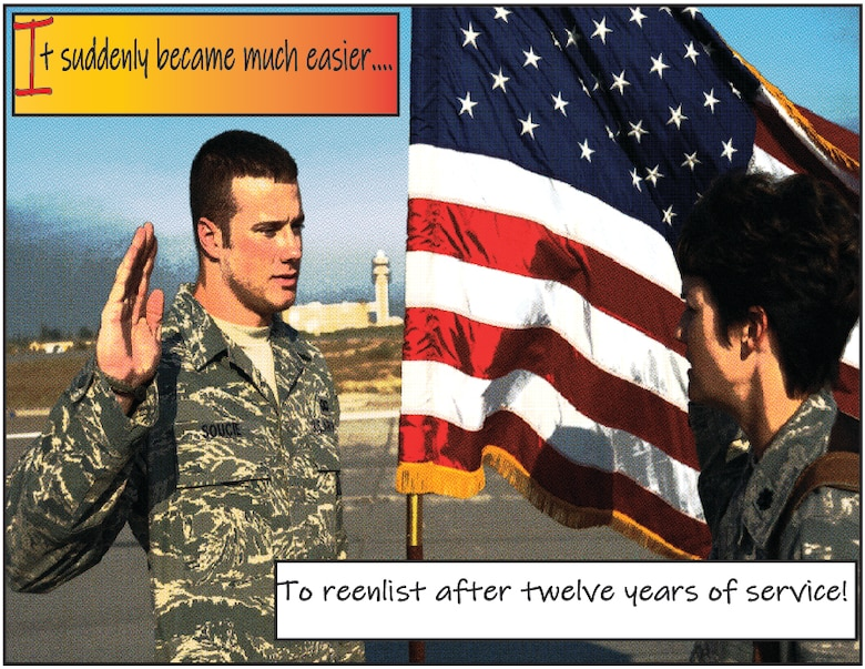 The Air Force introduced the Noncommissioned Officer Career Status program for career Airmen with 12 or more years of service.