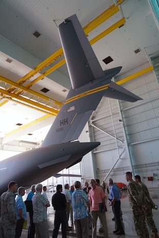 National Aviation Safety Commissioners Visit Hickam
