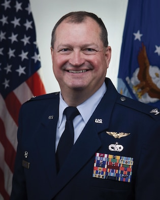 Col. Bryan Runion is the 445th Mission Support Group Commander.