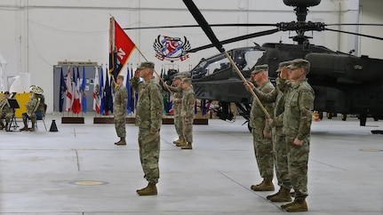 1st Combat Aviation Brigade Transfer of Authority