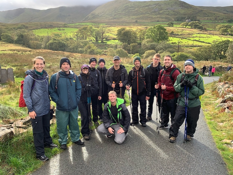 The group returned to the third mountain base - drained, freezing, and yet invigorated by the win of completion