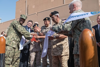 191107-N-KZ419-1001 NAVAL SUPPORT ACTIVITY BAHRAIN, Bahrain (Nov. 7, 2019)