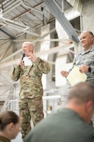 Missouri Airmen conduct a Resilience Tactical Pause