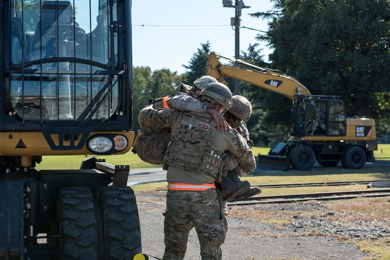 Yokota Airmen participate in exercise Beverly Morning 19-03