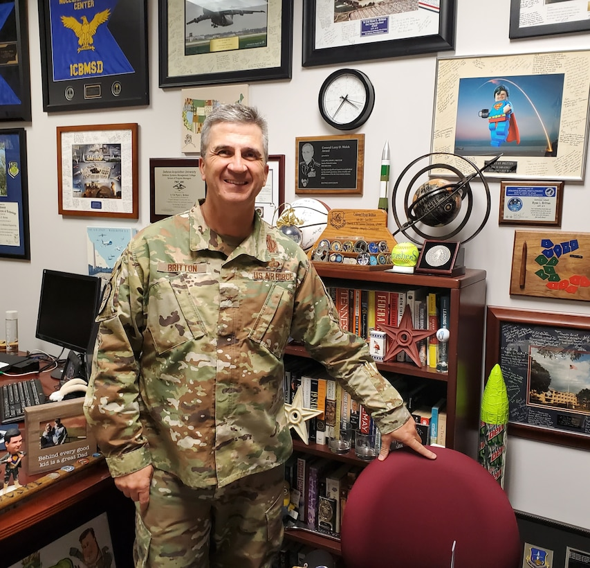 Brig. Gen. Ryan Britton, Program Executive Officer for the Air Force Life Cycle Management Center's Presidential and Executive Airlift Directorate talks recent accomplishments and upcoming milestones.