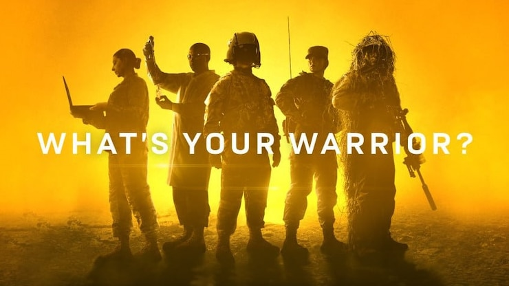 """What's Your Warrior?"" is a new campaign that focuses on the breadth and depth of role the Army offers and how these diverse skillsets and talents come together to form the most powerful team on Earth—one that is uniquely able to solve the world's most impossible challenges."