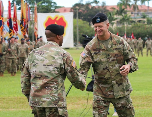 25th Infantry Division Change of Command