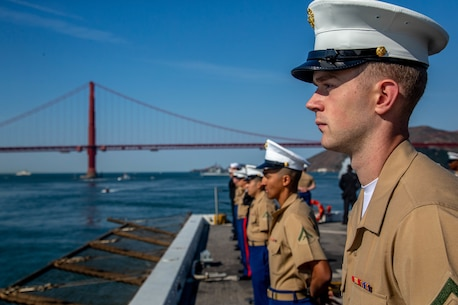 Photos of Marines at Fleet Week