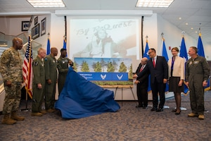 Airfield Naming Ceremony