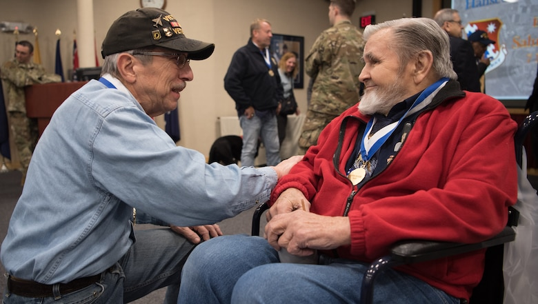 Ceremony honors local veterans