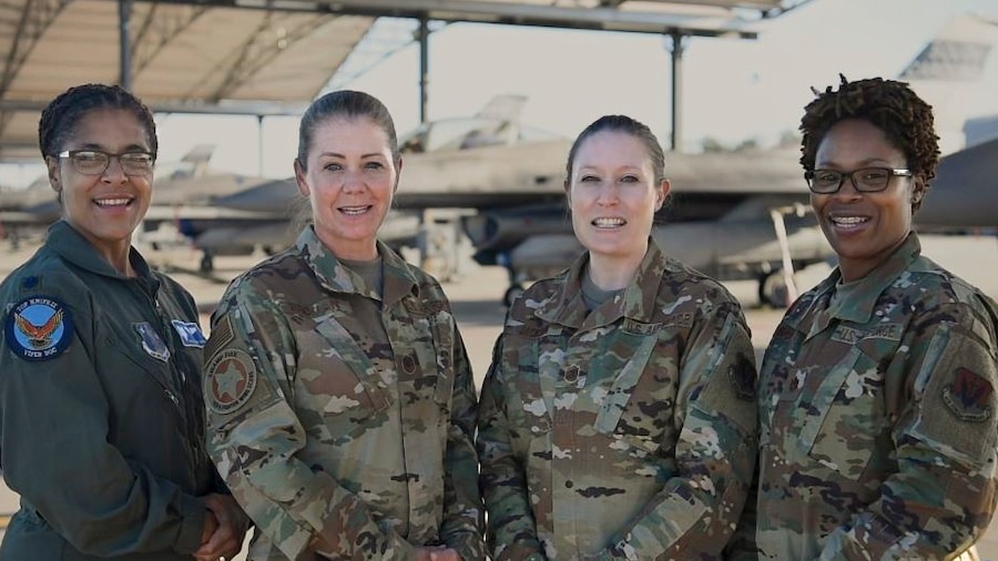 """Instead of simply saying """"Happy Veterans Day,"""" some military members take a different tack this year. Members of the five branches say the various things said in reply all year long when the public says """"thank you for your service.""""  Video by Master Sgt. Carl Clegg"""