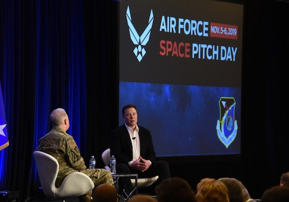 'Space Pitch Day' yields innovative technologies and new partners for the Air Force