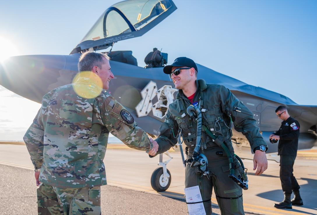 CSAF visit Luke to meet with Airmen, discuss F-35 future