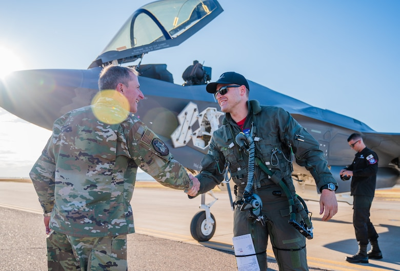 CSAF visit Luke to meet with Airmen, discuss F-35 future