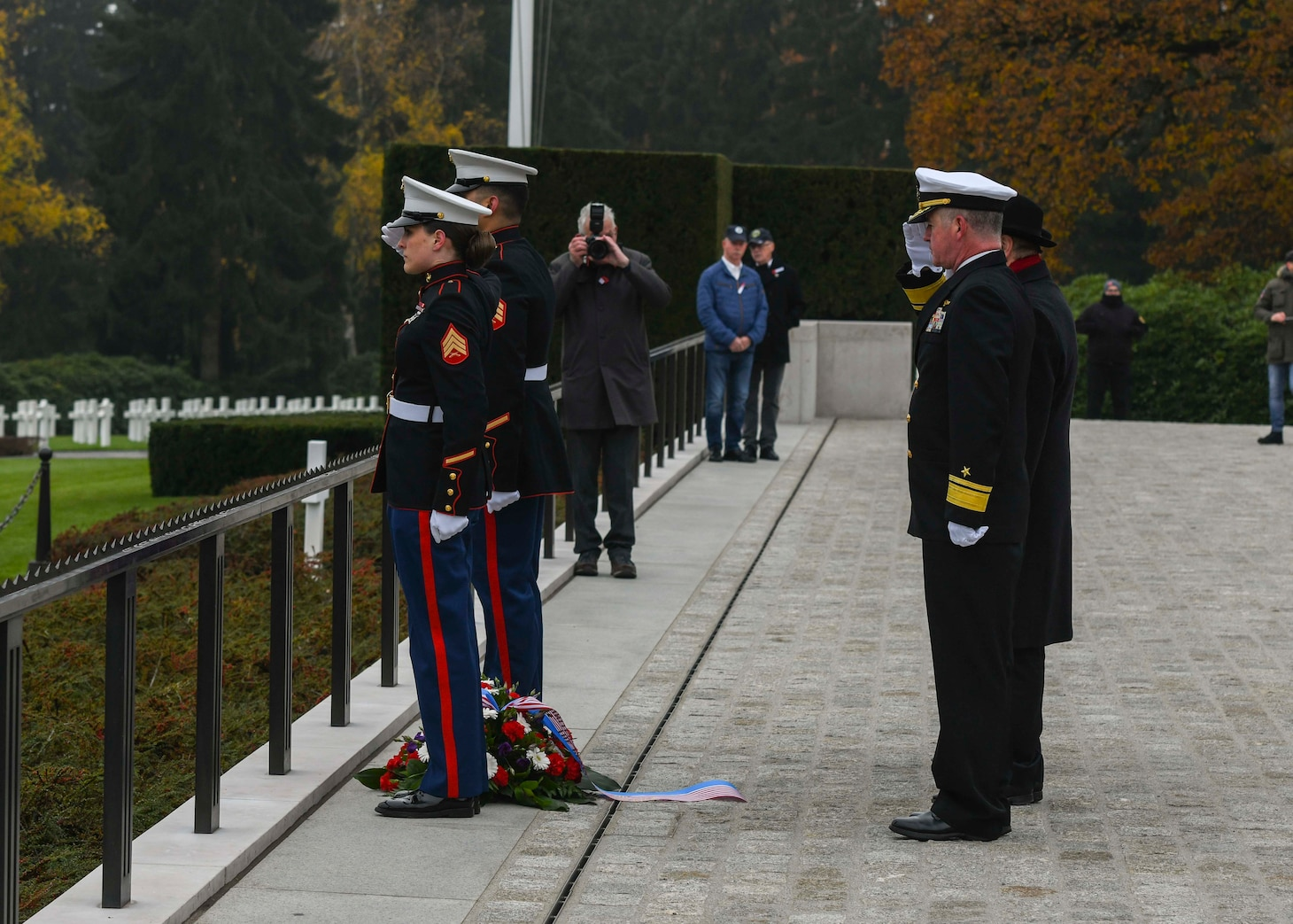 Veterans Day; Luxembourg American Cemetery and Memorial; Luxembourg; U.S. Naval Forces Europe-Africa;