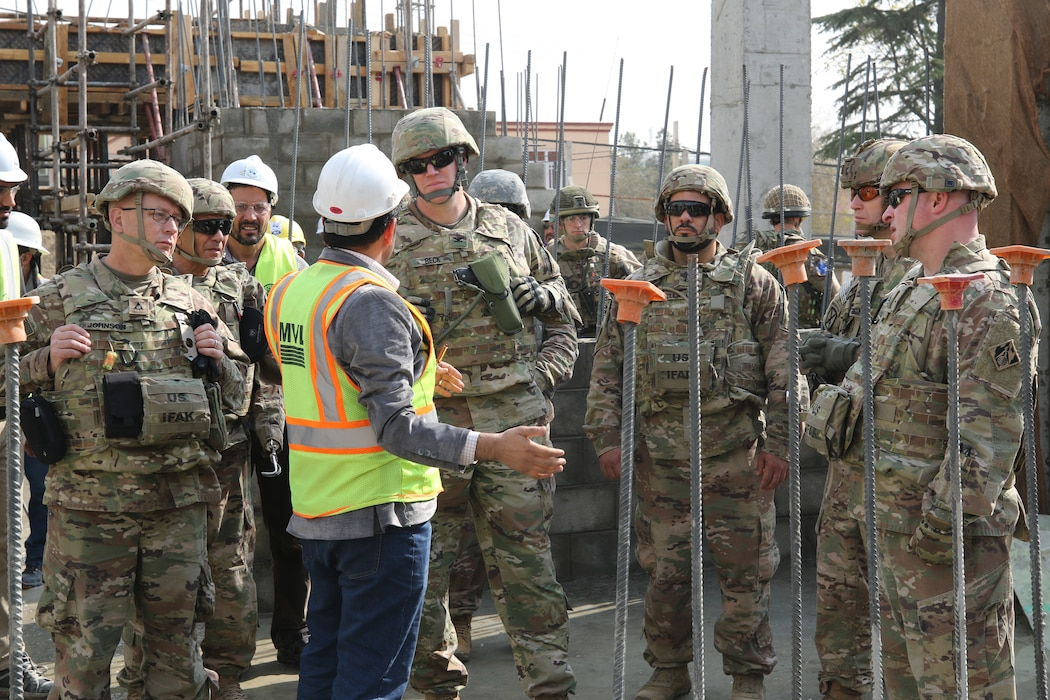 The Transatlantic Division Leadership was able to visit the Afghanistan District and be available for a few project site visits, seeing first-hand the construction efforts underway in theater by the USACE team.