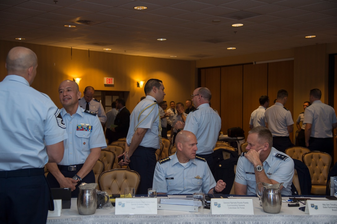 South American Air Chief and Senior Enlisted Leader Conference
