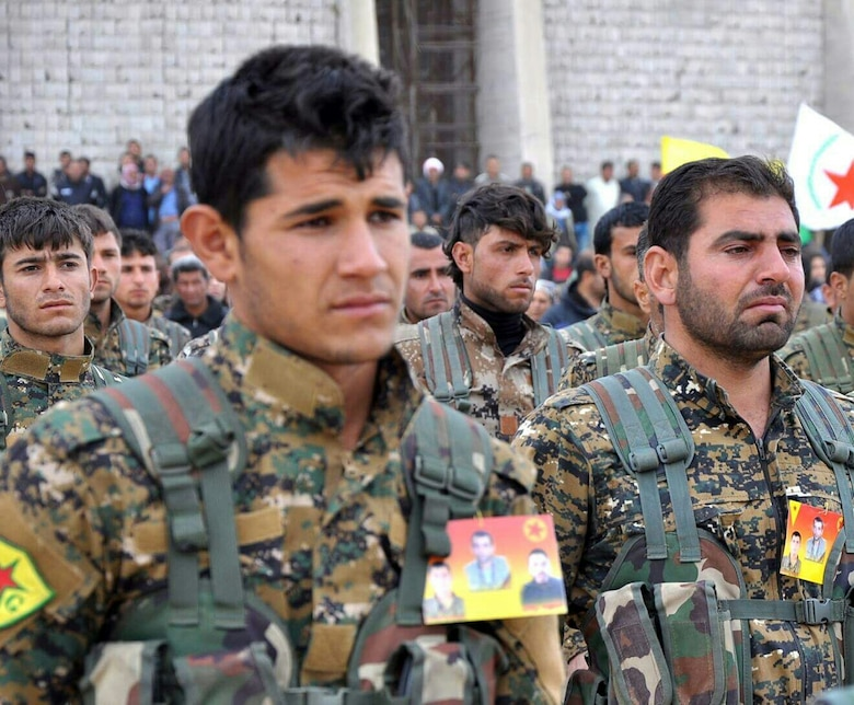 Beginning in 2014, US forces partnered with the YPG against ISIS in Syria. In 2015, the YPG joined other Syrian groups to form the Syrian Democratic Forces (SDF), comprising the SDF's leading component. Turkey considers the YPG to be the Syrian branch of the Kurdistan Workers' Party (PKK), a US-designated terrorist organization that has waged a decades-long insurgency in Turkey. Ankara has strongly objected to US cooperation with the SDF. While US officials have acknowledged YPG–PKK ties, Washington considers the two groups to be distinct.