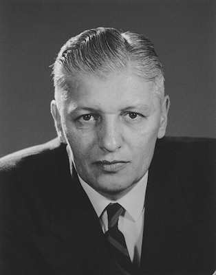 Edward M. Drake, Director of Canada's first permanent cryptologic agency.