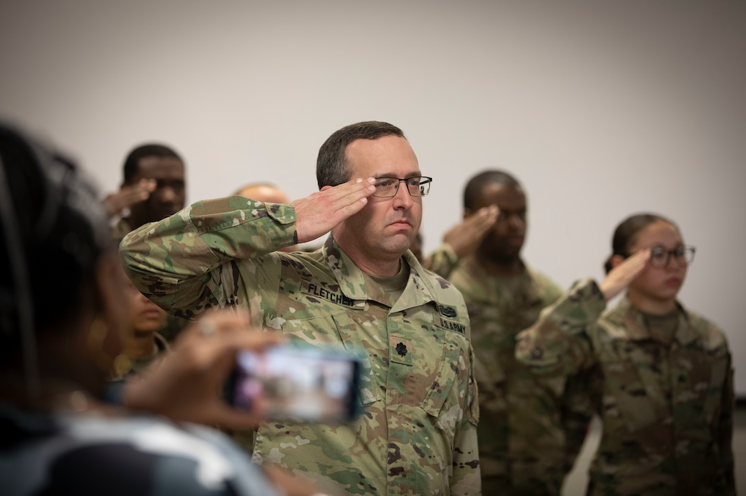 Signal Detachment Says Farewell During Deployment Ceremony
