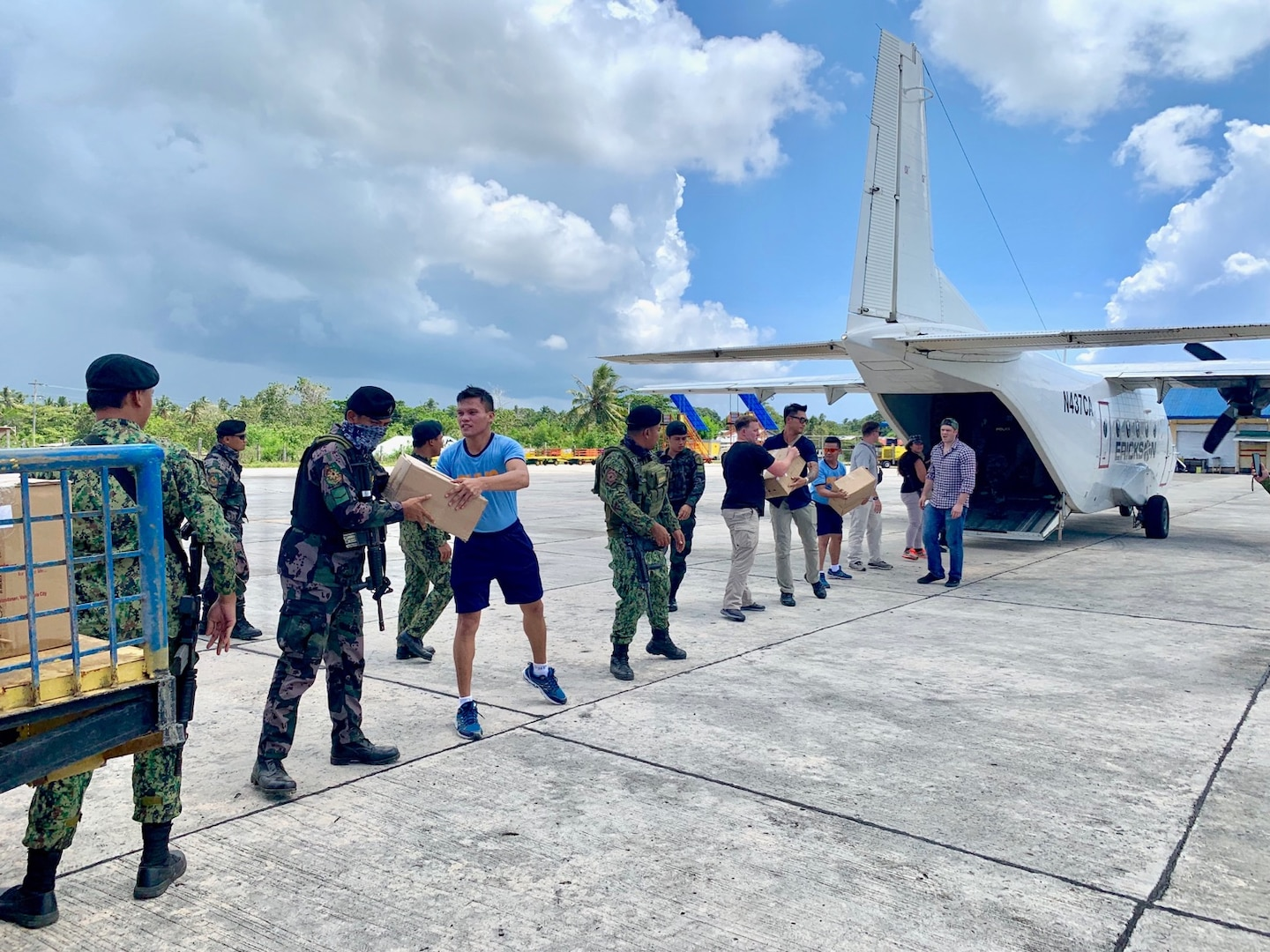 U.S. Military and Philippine Security Forces Conduct Medical Mission in Tawi-Tawi