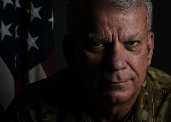 Col. Don Wren, 910th Mission Support Group commander, poses for a photo on Nov. 3, 2019, at Youngstown Air Reserve Station.