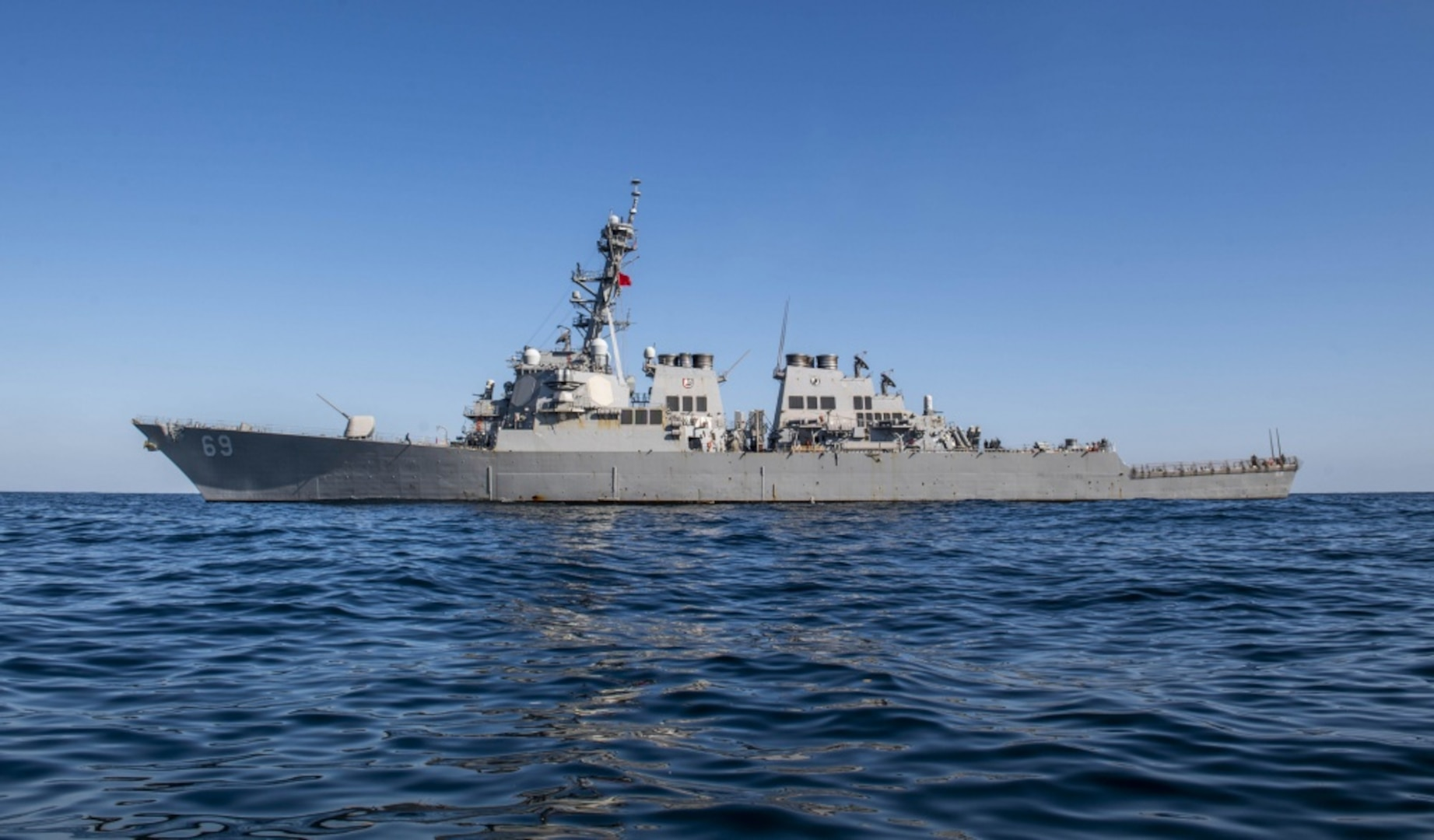 U.S. Navy and Japanese Maritime Forces Start Annual Exercise