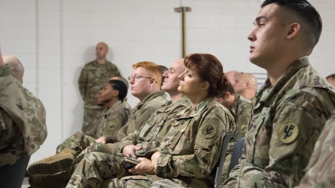 414th Civil Affairs Battalion Soldiers conduct Soldier readiness