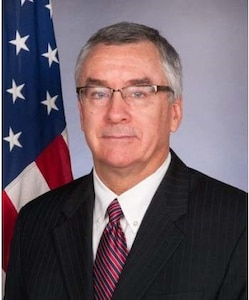 Official bio photo for the Foreign Policy Advisor to the Chairman of the Joint Chiefs of Staff Ambassador Brent Hartley