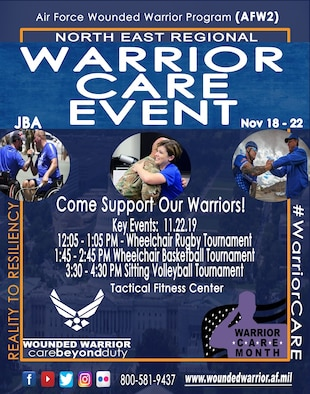 Wounded Warrior CARE event