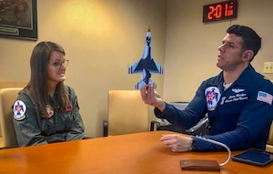 WFISD teacher Pepper flies with USAF Thunderbirds