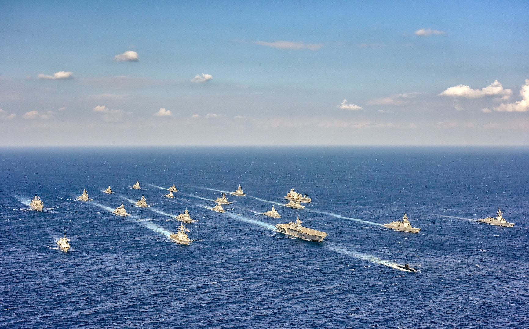 Japan Maritime Self-Defense Force, U.S. Navy Conduct Bilateral 'Annual Exercise' 2019