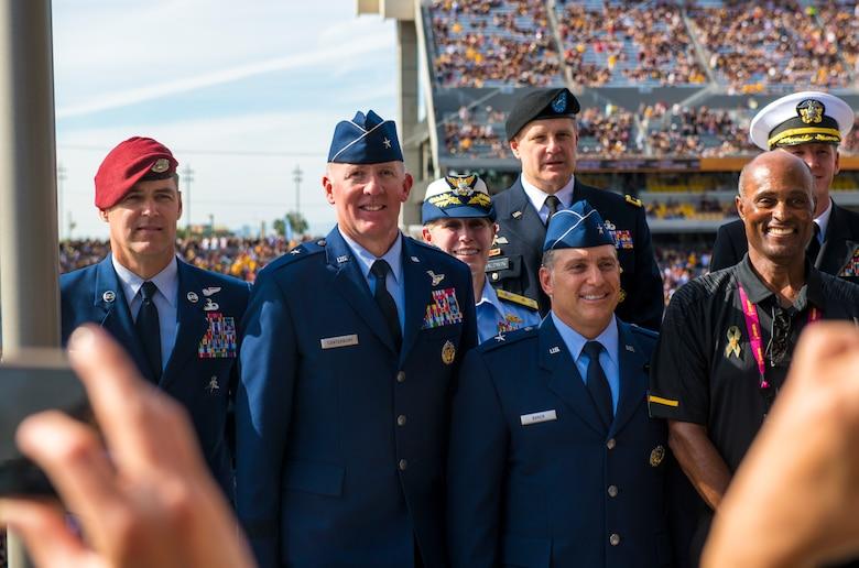 ASU, ISM Raceway honors Luke Airmen during Veteran's weekend ceremonies