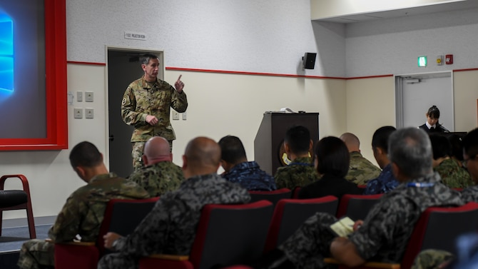 More than 50 members gathered for a two-day discussion forum on the growing adversarial influences throughout the Pacific Theater and how to improve bilateral operating concepts for great power competition.