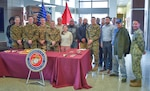 DLA Distribution celebrates 244th Marine Corps birthday