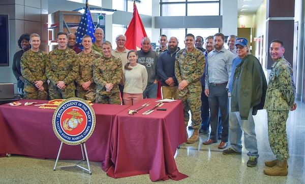 DLA Distribution celebrates 244th Marine Corps birthday