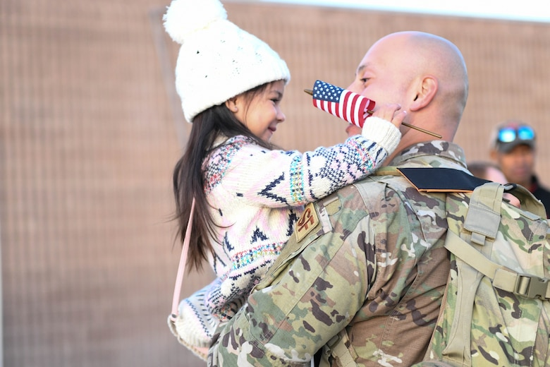 More than 35 defenders returned home following a six-month deployment to Southwest Asia.