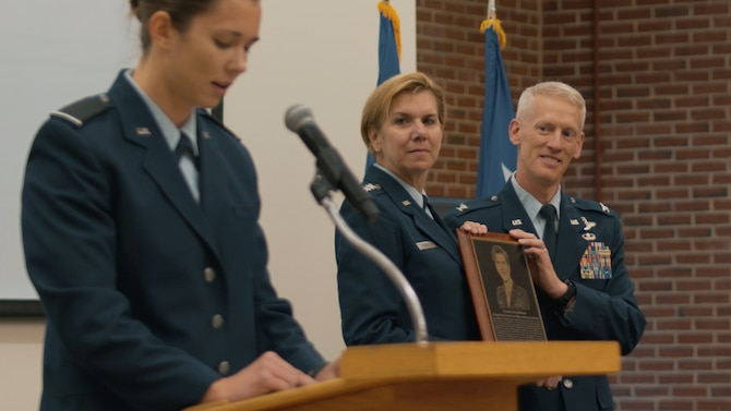Air Force ROTC honors former NORAD commander with distinguished alum award