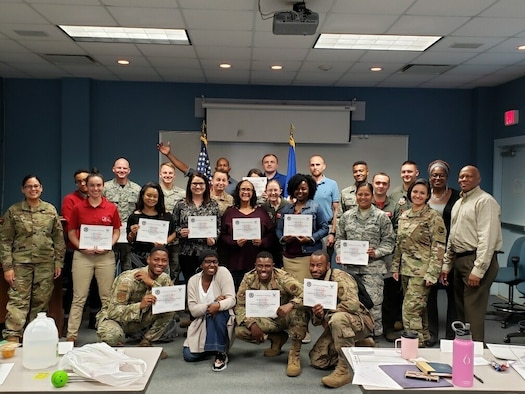 IRTAs train Airmen on resilience skill sets, foster resiliency across the installation