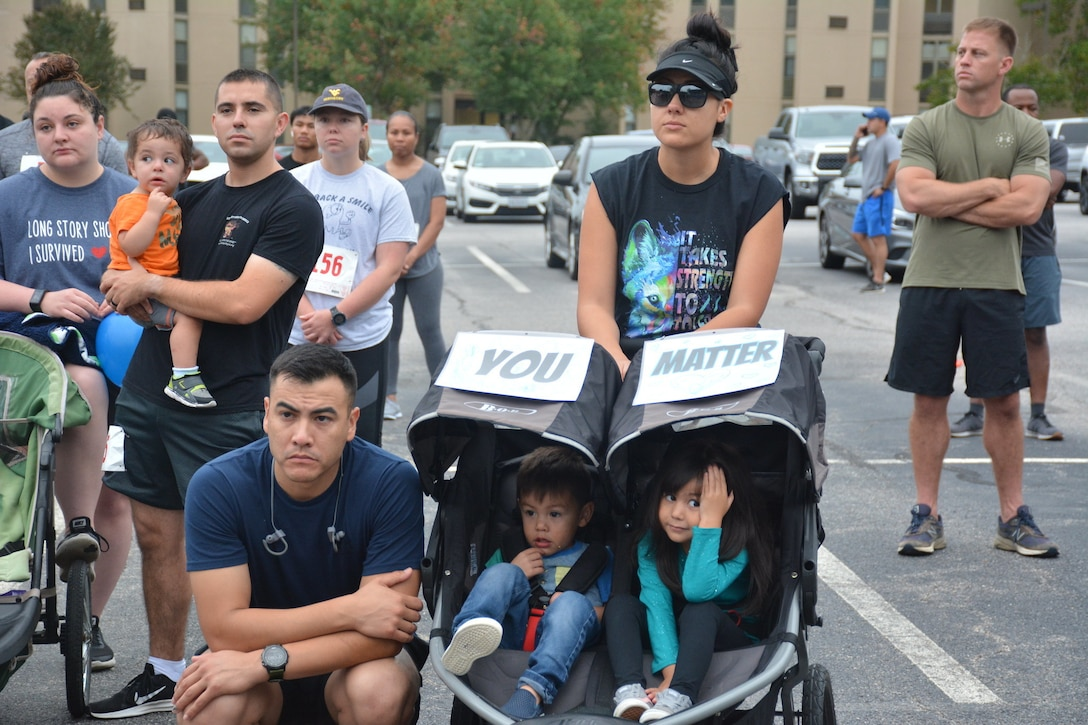 The 94th Training Division-Force Sustainment, 2nd Brigade Headquarters and Headquarters Company hosted an inaugural 5K run on Fort Lee, Virginia, Sept. 14, 2019. The event was designed to raise suicide awareness amongst our nation's service members and to encourage Soldiers who are contemplating suicide to seek support from fellow service members, friends, and loved ones, along with using various military resources in a time of need or when in the midst of trials and tribulations.