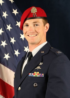 "U.S. Air Force Capt. Andrew Jon ""AJ"" Ciechomski, Special Tactics officer."