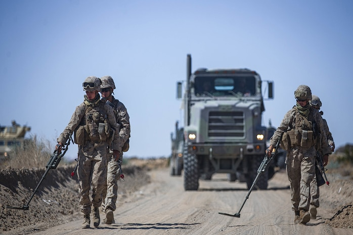 EOD Marines receive new IED wire detector