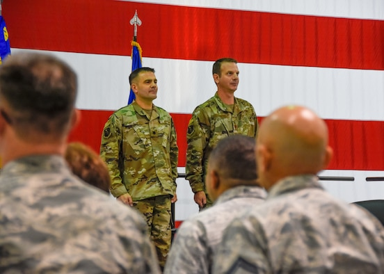 442d Aircraft Maintenance Squadron holds Assumption of Command ceremony