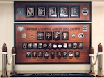 The Defense Logistics Agency Indo-Pacific command board showcases the people who support the regional command's mission.