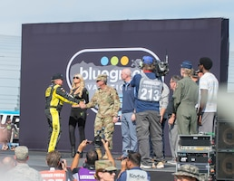 CSAF attends Veteran's Day NASCAR event